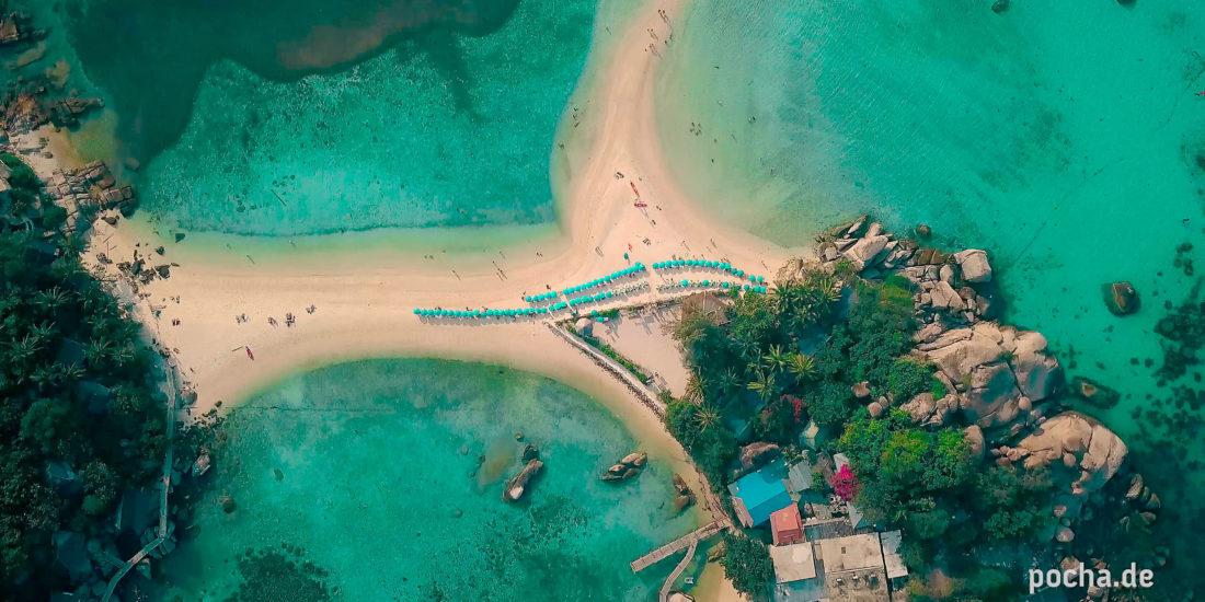 Reisefoto Drohnen Film Koh Tao Pocha
